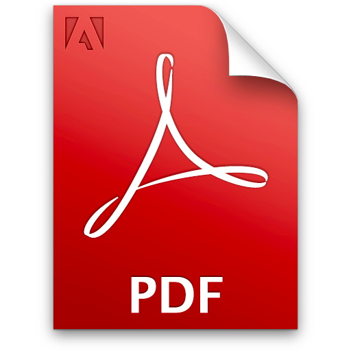 16 PDF Document Icon Images