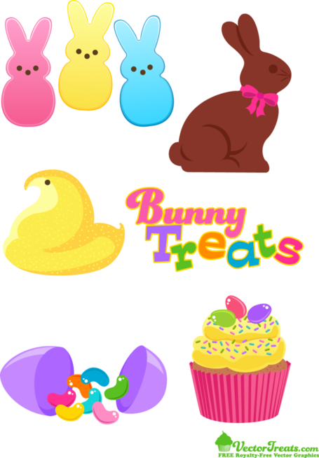 Easter Bunny Vector Art Free