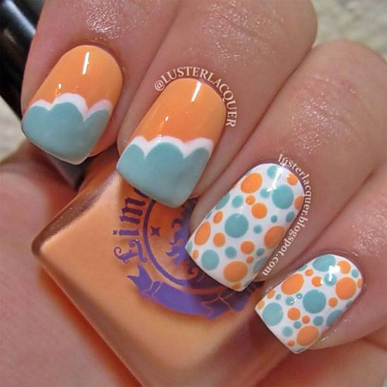 Easy Cool Summer Nail Designs