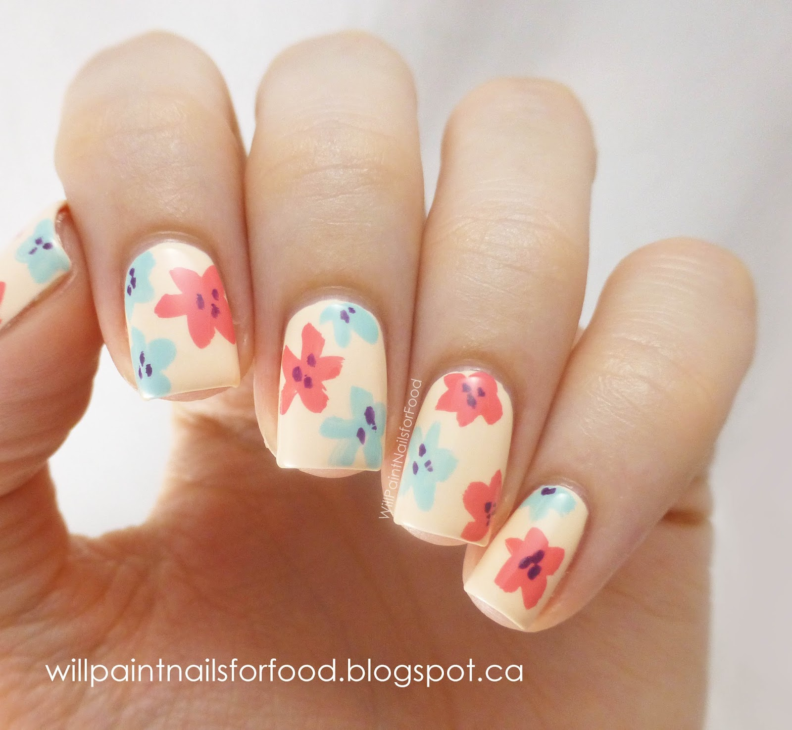 Easy Cute Summer Nails