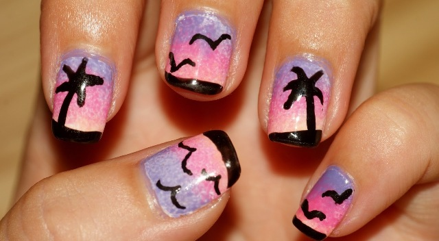 Easy Summer Nail Art Designs