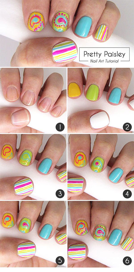 Easy Summer Nail Art Tutorial