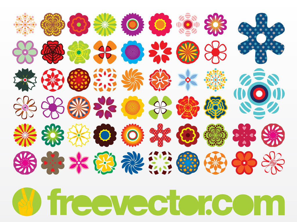 11 Free Flower Icons Images