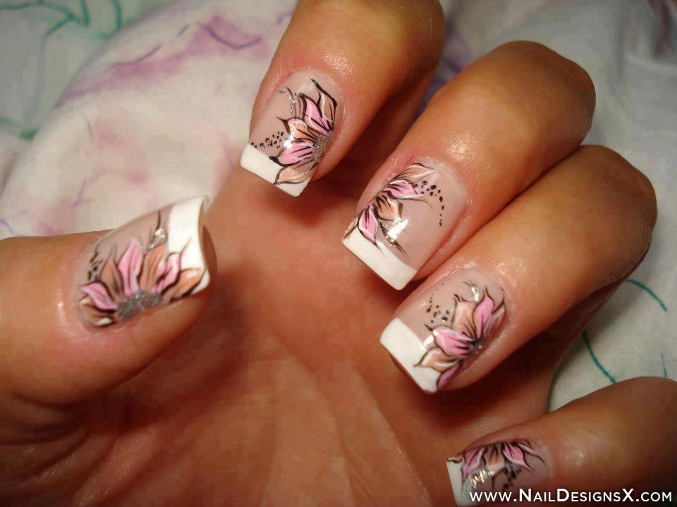 Flower Nail Art Design