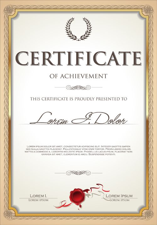 13 certificates frame psd free in images free for Download certificate template psd