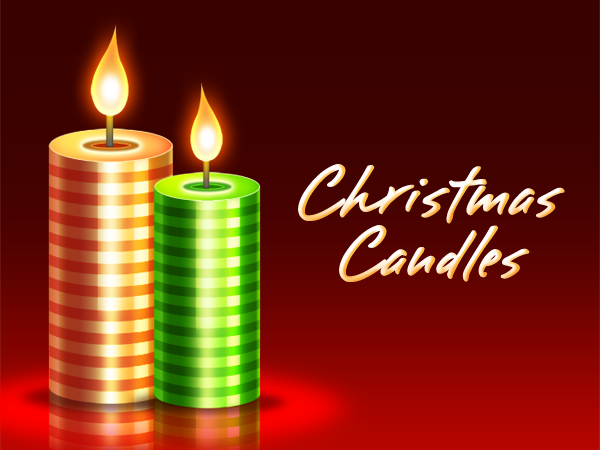 Free Christmas Candle Graphics
