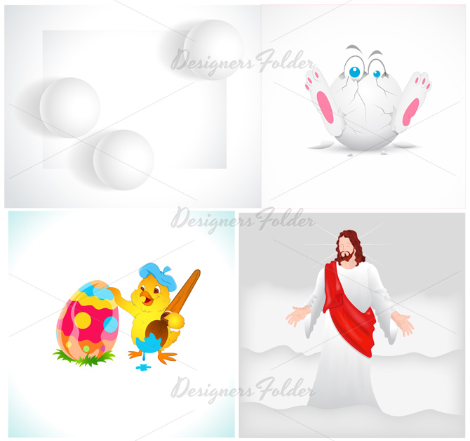 Free Easter Vector Graphics