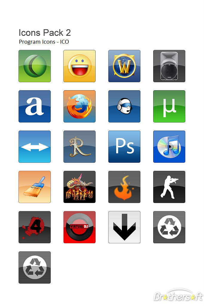 9 Free Windows Icons ICO Images