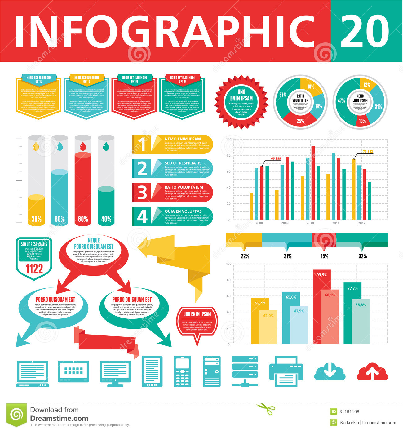 10 Infographic Elements Free Download Images - Free ...