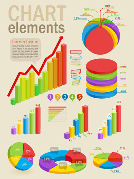10 Infographic Elements Free Download Images