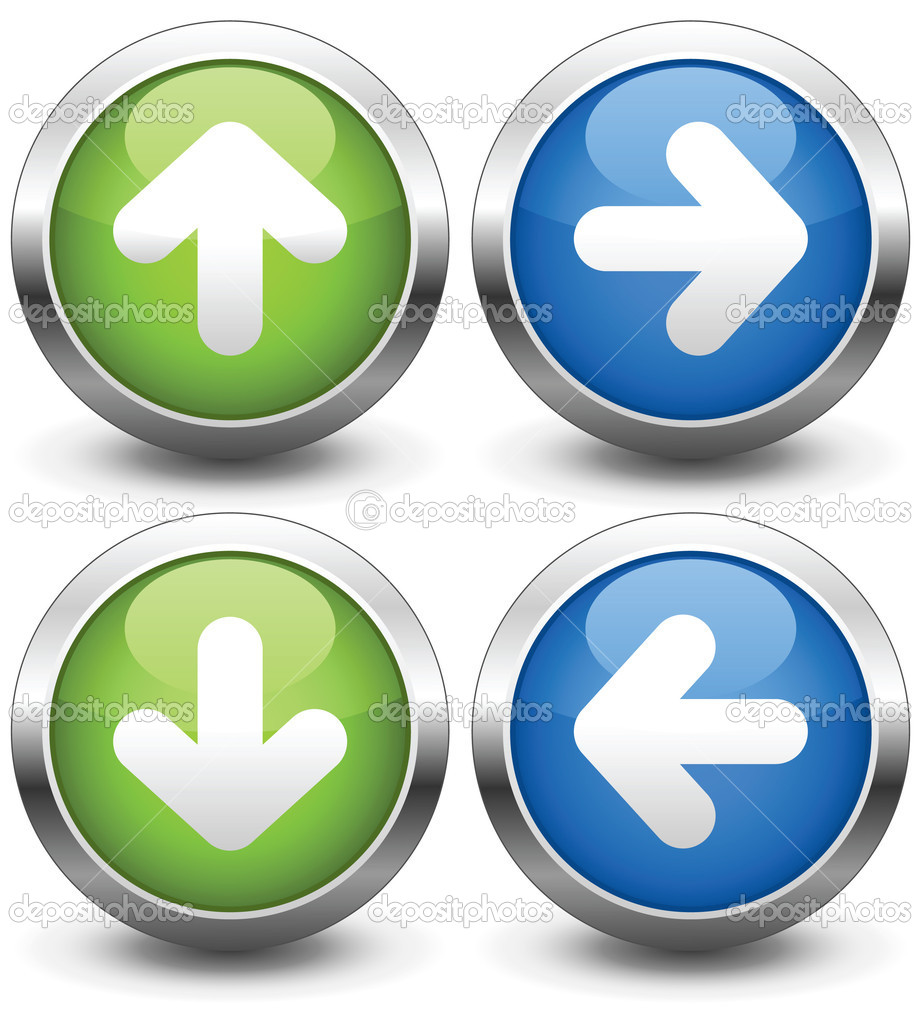 Free Navigation Button Icons