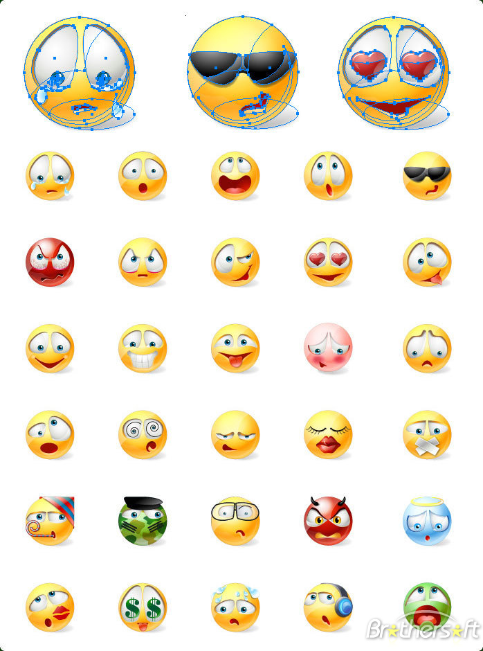 Free Smiley Emoticons Download