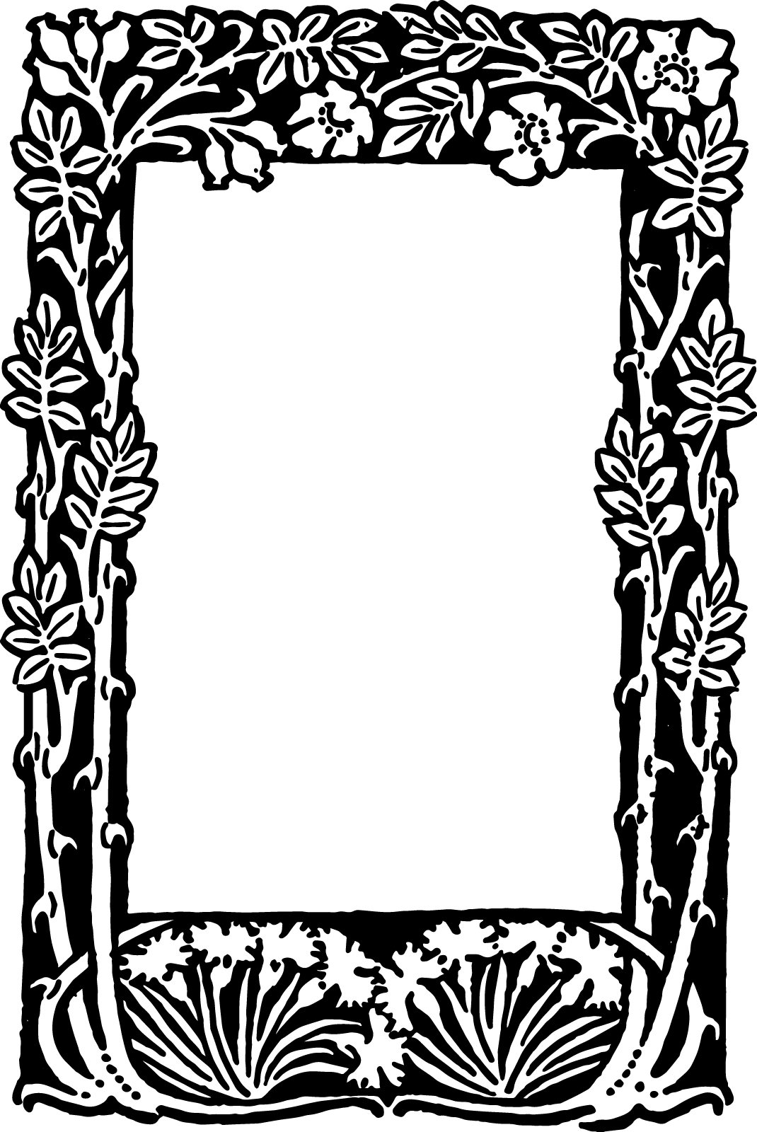 Free Victorian Borders and Frames Clip Art