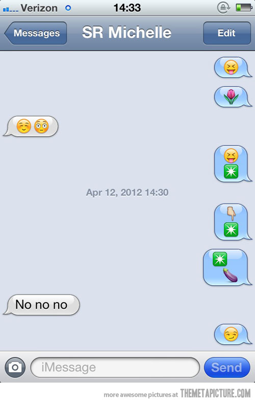 Funny Emoticons Text Messages
