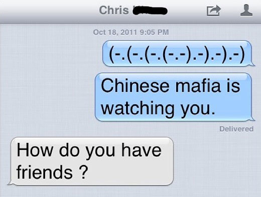 Funny iPhone Text Emoticons
