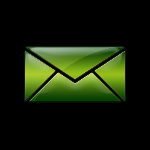 15 Email Icon Black Background Images