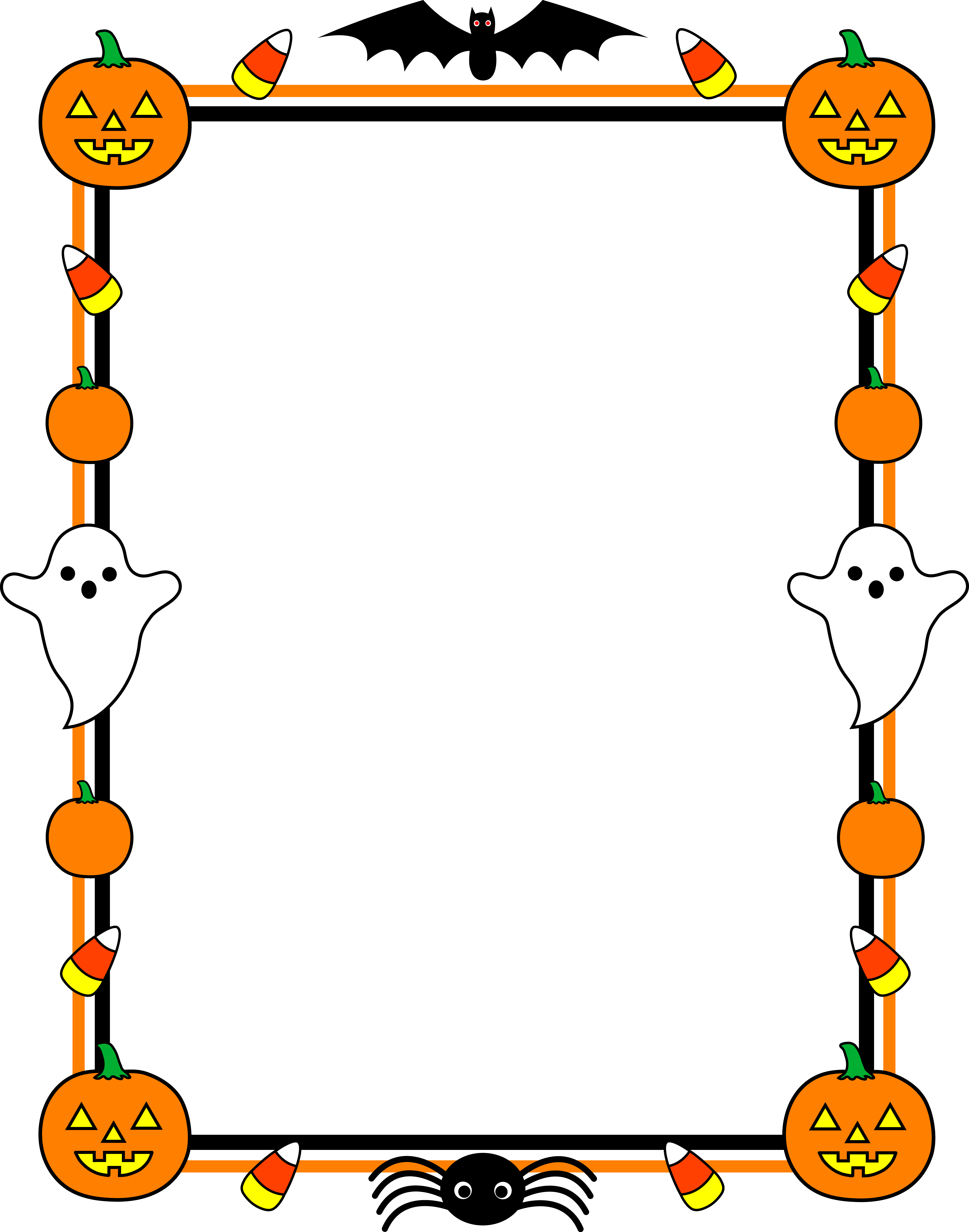 16 Halloween Clip Art Designs Images