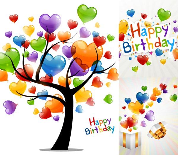 Happy Birthday Balloons Graphics