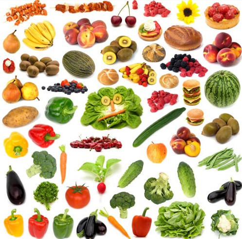 Healthy Food Vector Free