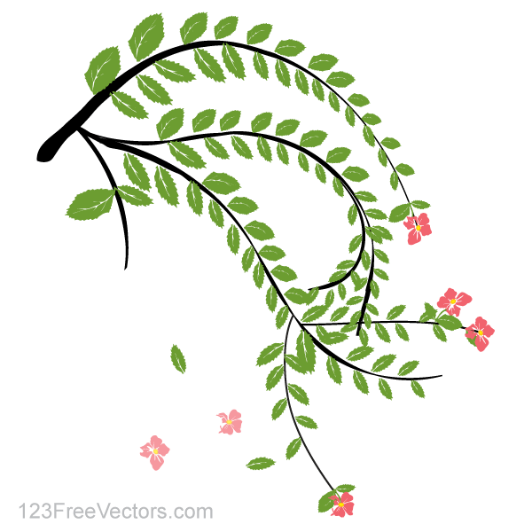 17 Free Vector Flower Plant Images