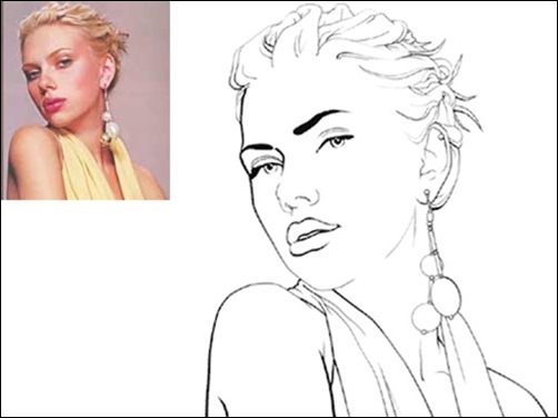 How to Turn Photo into Line Drawing Photoshop