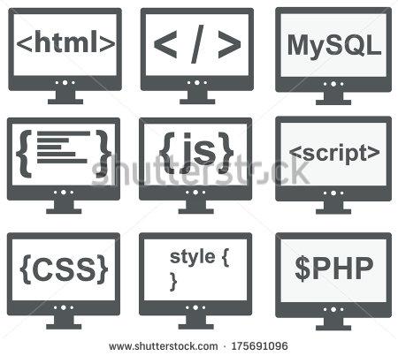 HTML CSS JavaScript Vector Logo