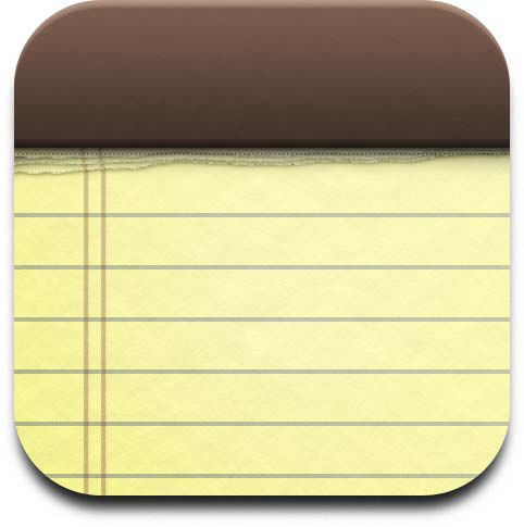 10 IPhone Notes Icon Images
