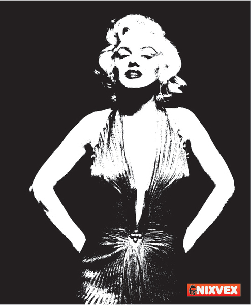 13 Marilyn Monroe Vector Clip Art Images