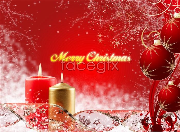 11 Christmas Photoshop Backgrounds PSD Files Images