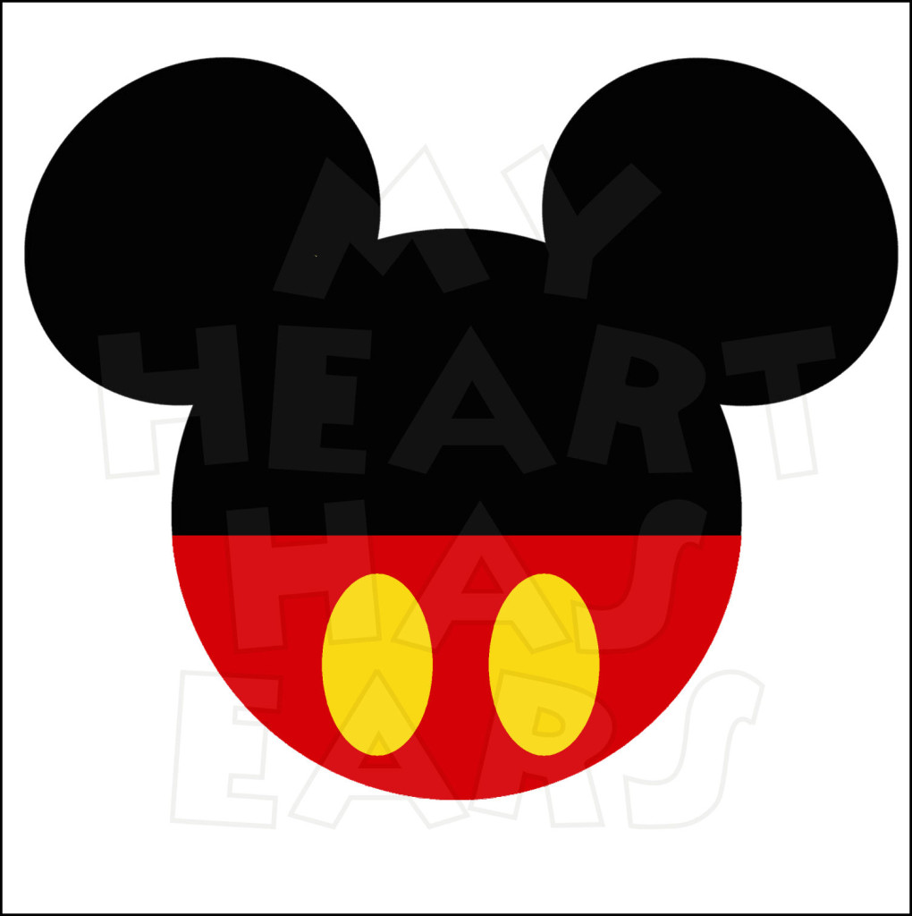 Mickey Mouse Head Clip Art