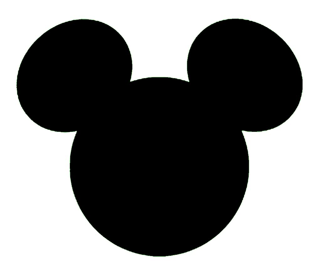 Mickey Mouse Head Vector
