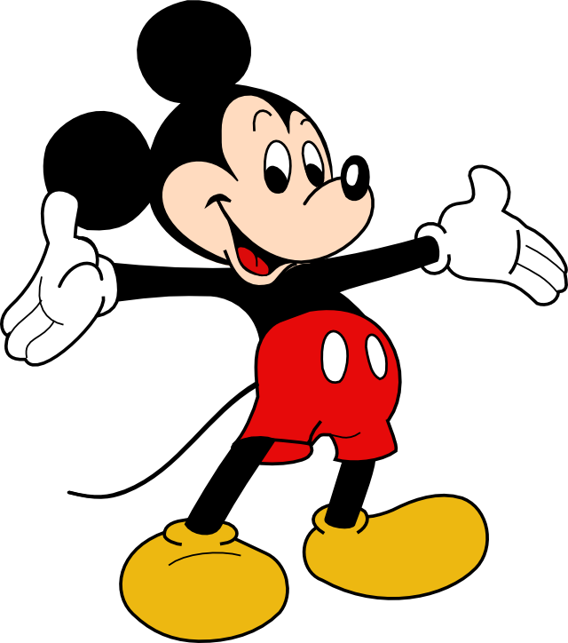 13 Mickey Mouse Vector Images