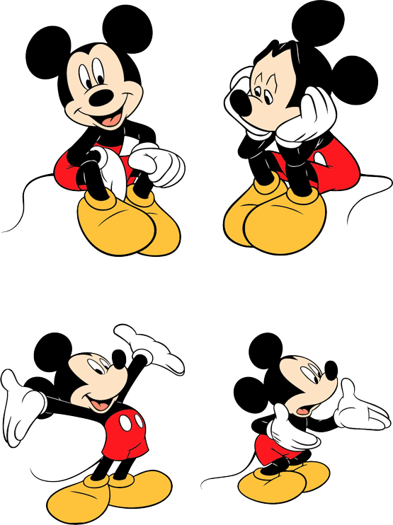 Mickey Mouse Vector Free