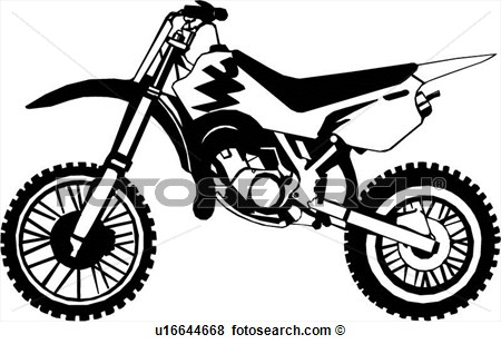 15 Dirt Bike Vector Images