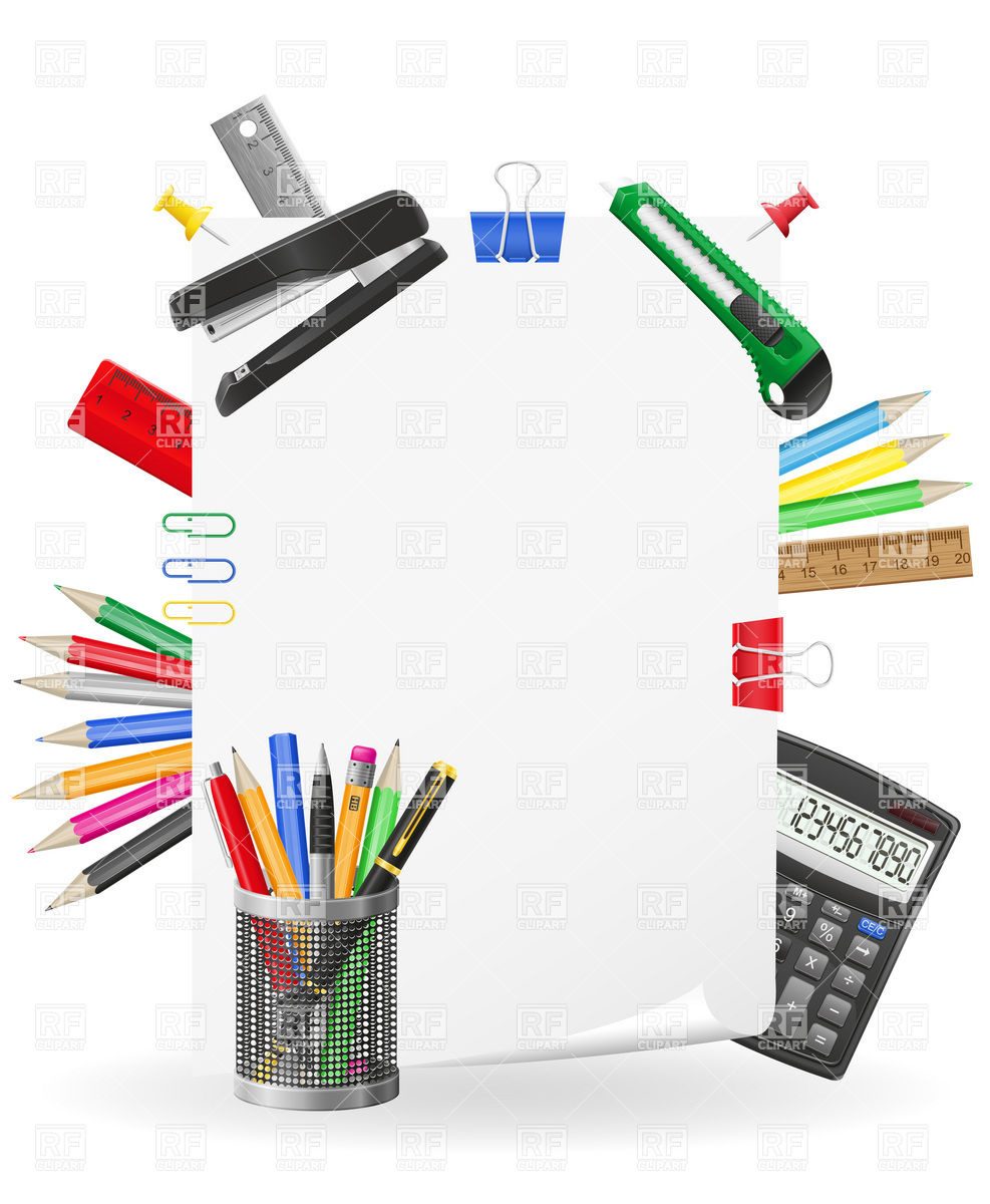 Office-Supplies Clip Art Free