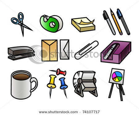 Office-Supplies Clip Art