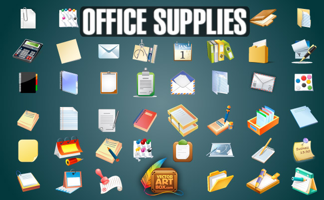 Office Supply Clip Art Free