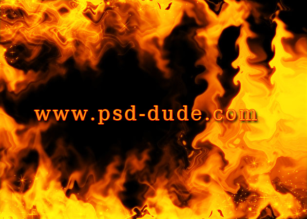 6 Flame PSD Photoshop Images