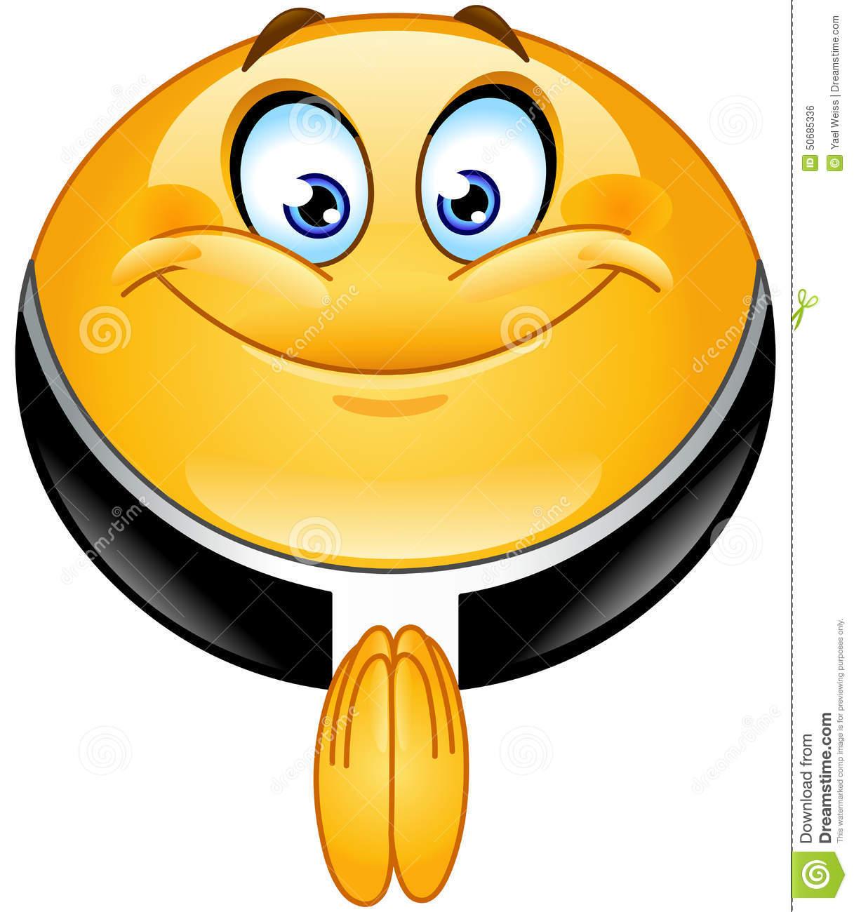 Priest Smiley Emoticon