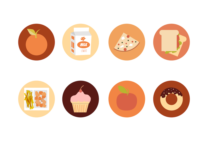 School Lunch Vector