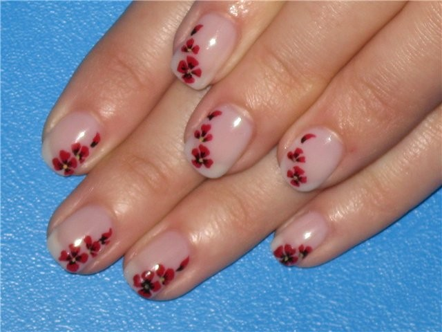 17 Short Nail Art Designs Pictures Black Background Images