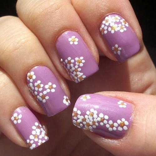 Simple Spring Nail Designs