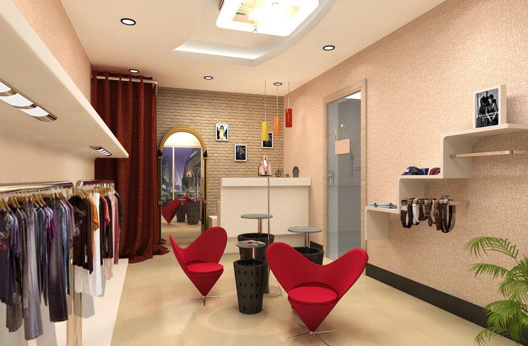16 3D Garment Shop Design Images - Retail Store 3D Design ...