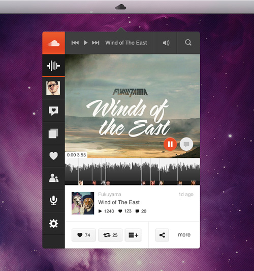 13 SoundCloud Mockup PSD Images
