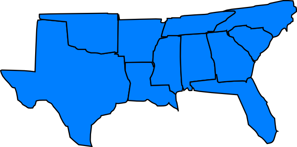 Southern United States Clip Art