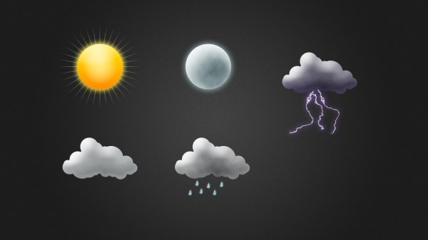 Sun and Cloud Weather Icon