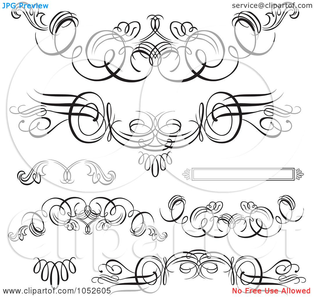 Swirl Designs Clip Art Free