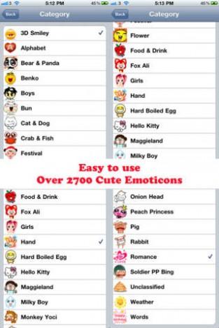 Text Message Symbols Emoticons