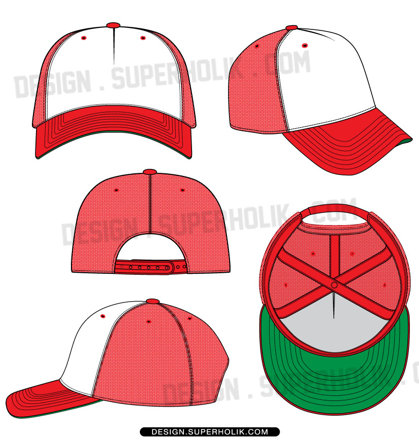 11 Trucker Hat Design Template Images
