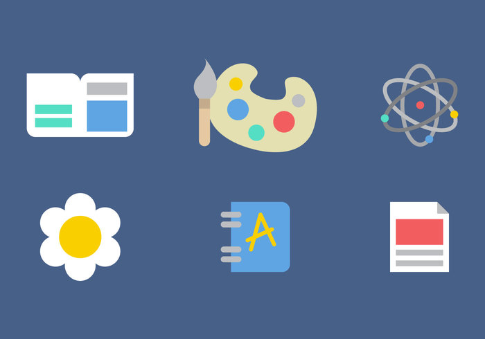 Vector Icons School